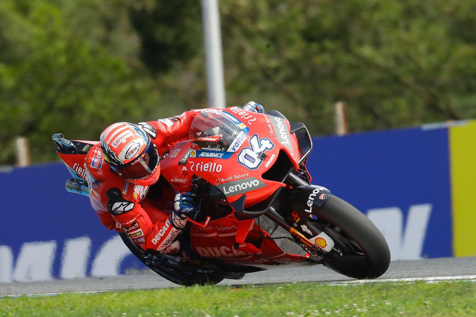 Ducati's Andrea Dovizioso at Brno MotoGP