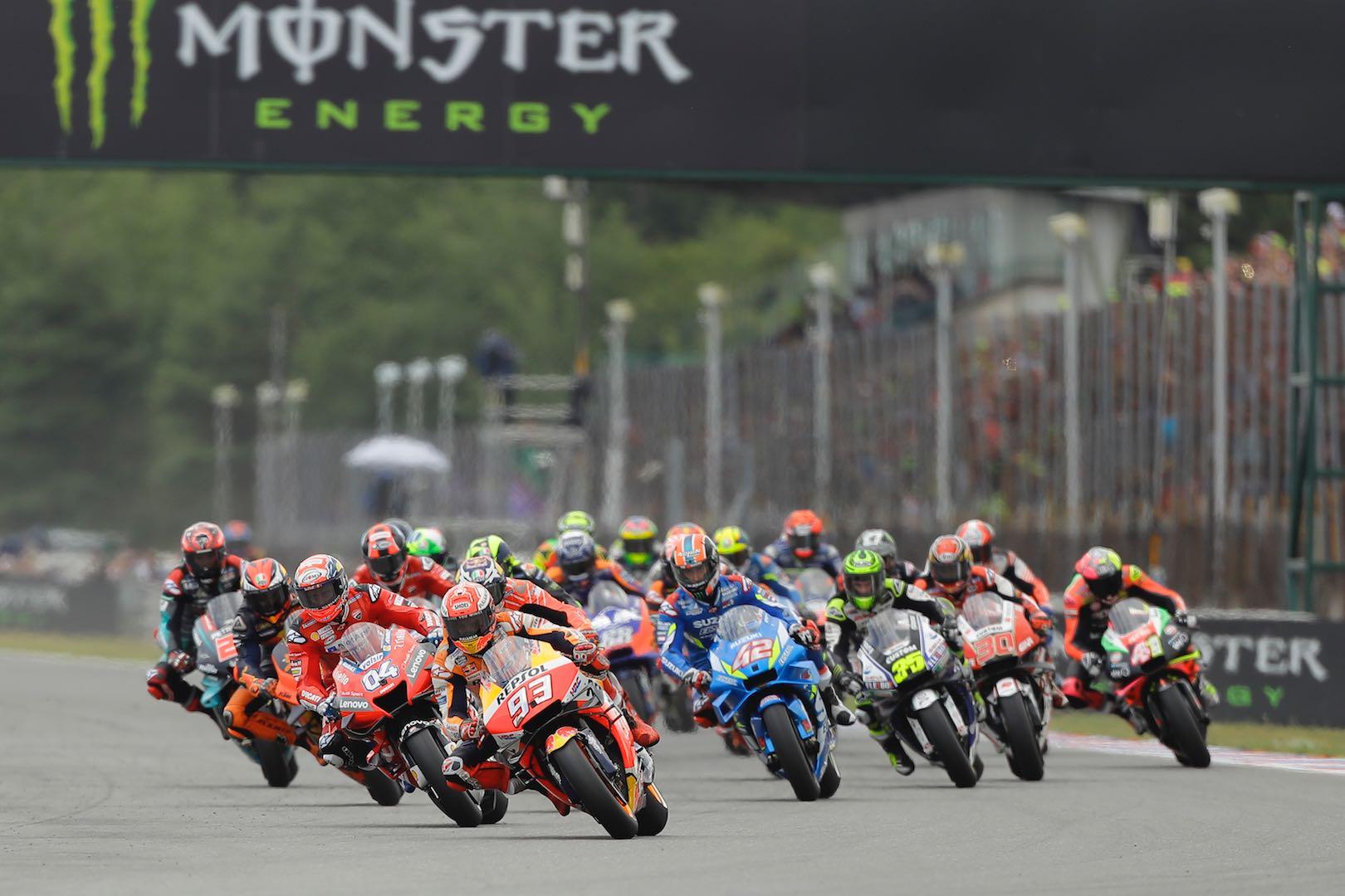 2019 Brno MotoGP Results: Marquez Reigns Rain-Delayed GP