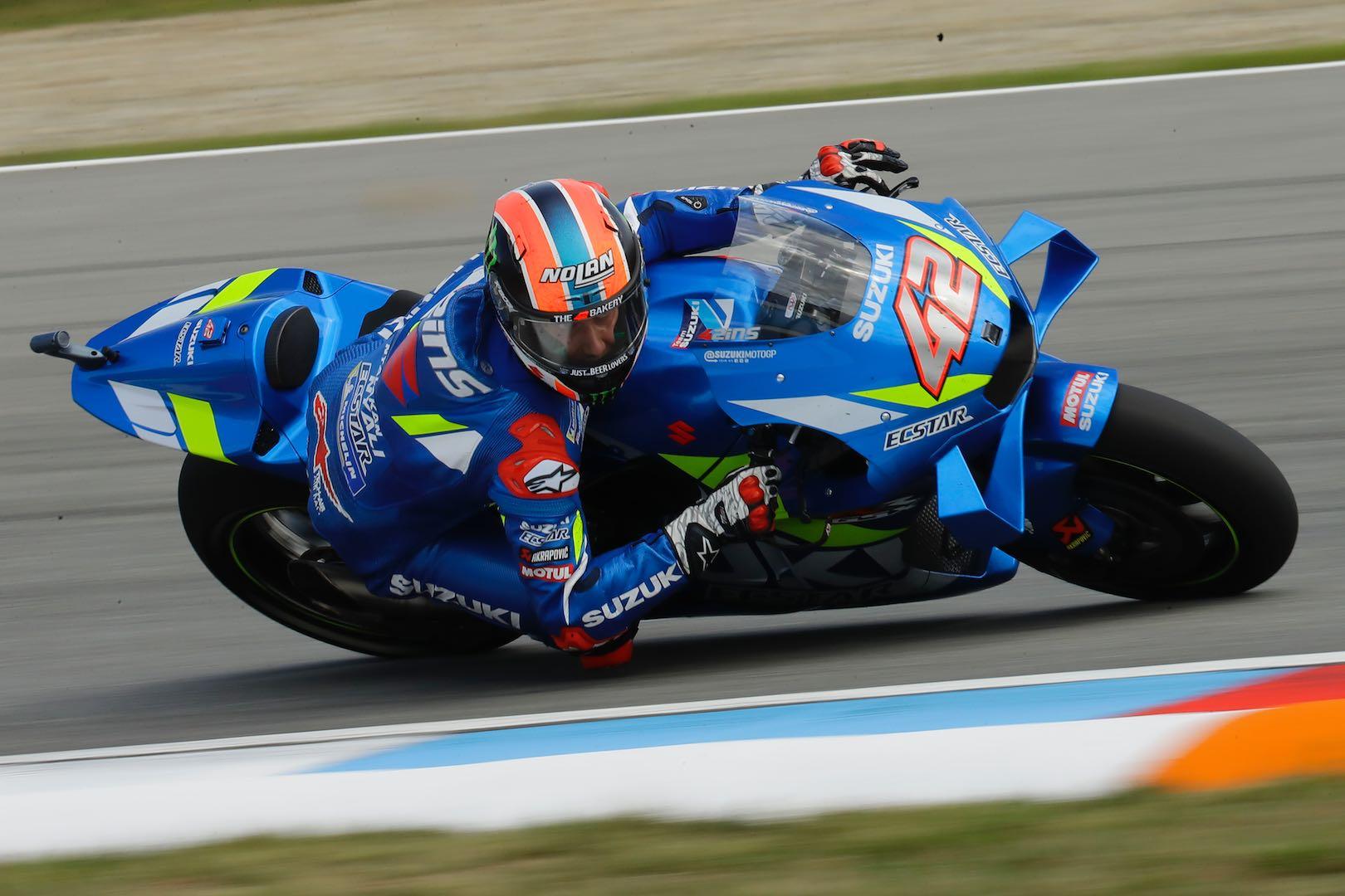 Alex Rins Suzuki MotoGP Brno 2019