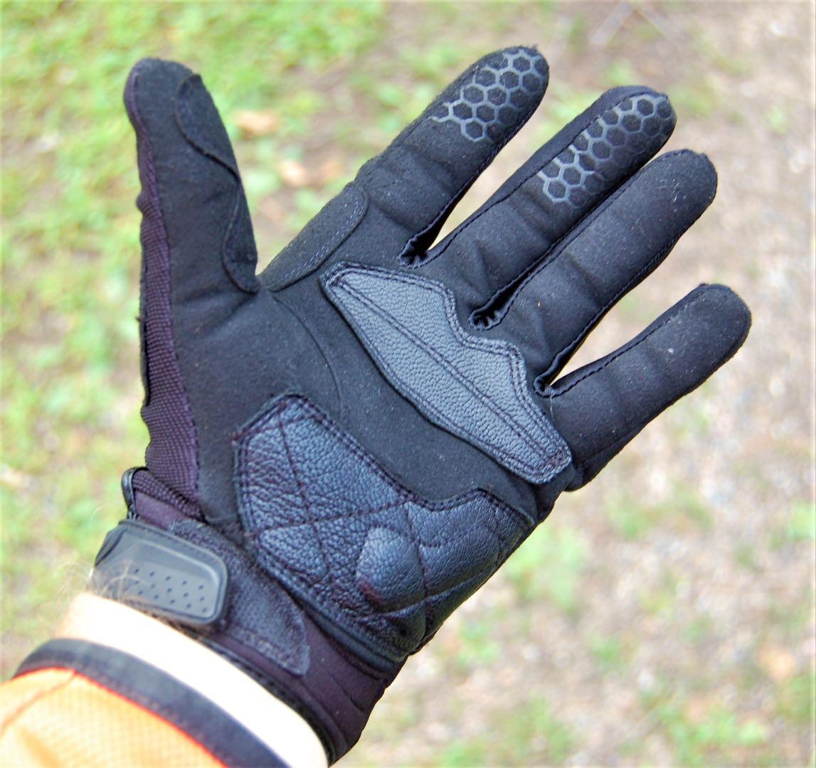 Cortech DXR Gloves back