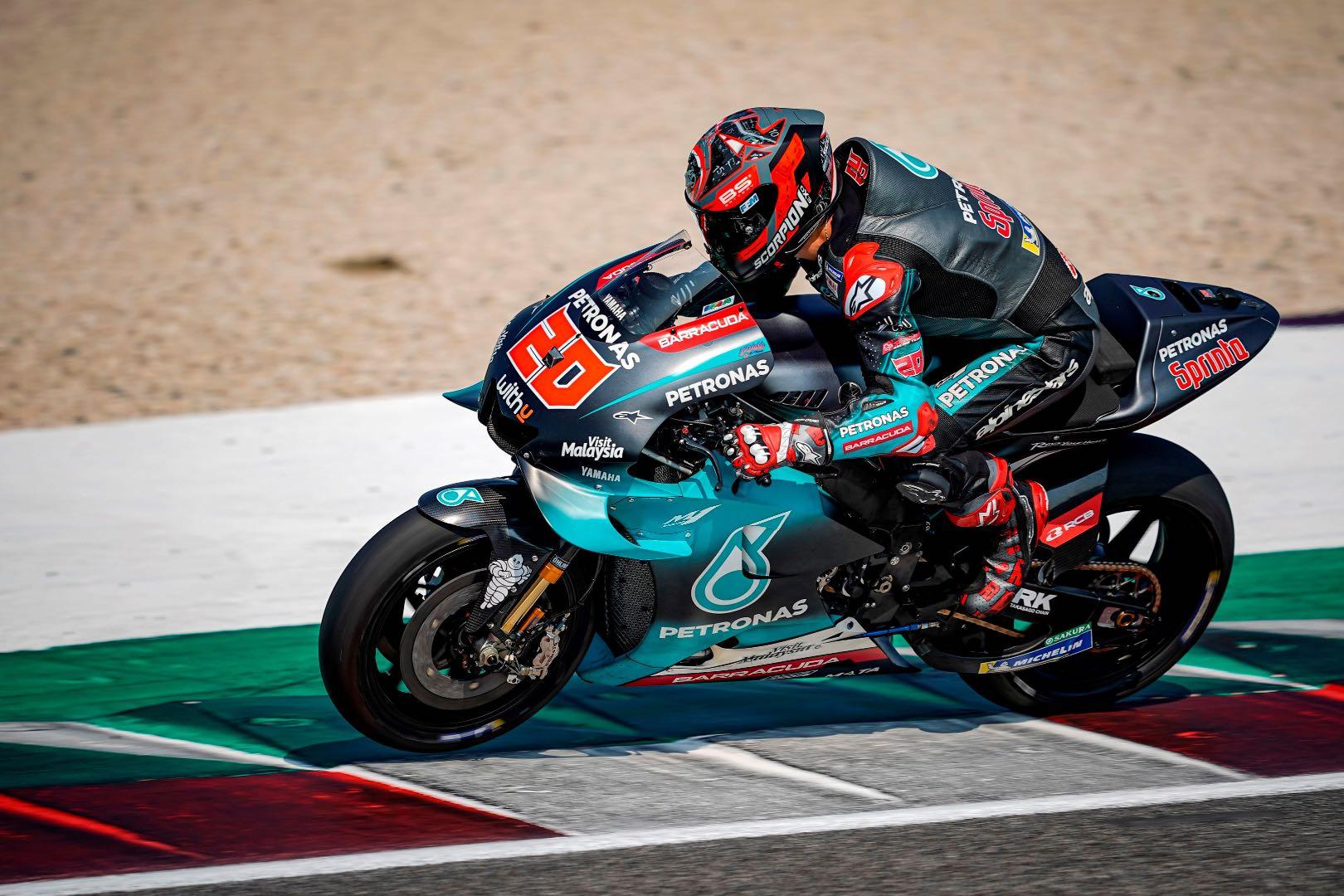 Yamaha's Quartararo Dominates 2-Day Misano MotoGP Test