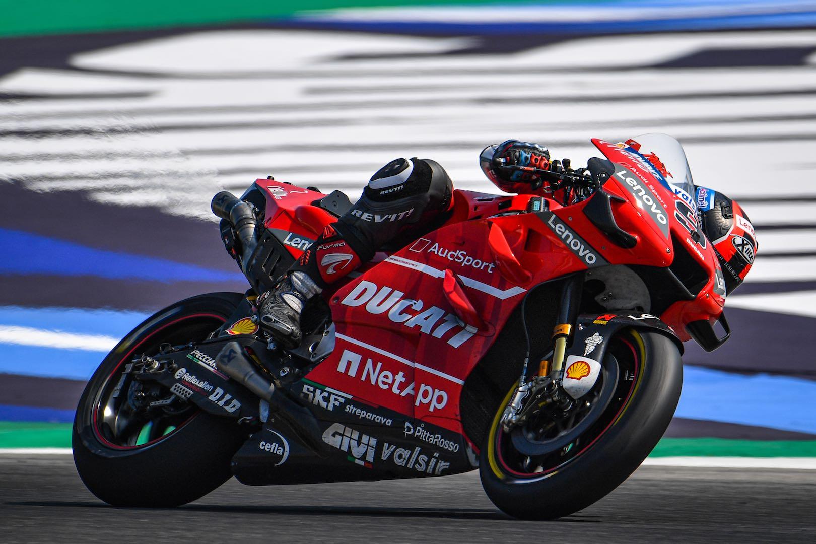 Yamaha's Quartararo Dominates 2-Day Misano MotoGP Test Ducati Petrucci