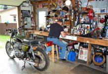 Honda CB500K2 resto project.
