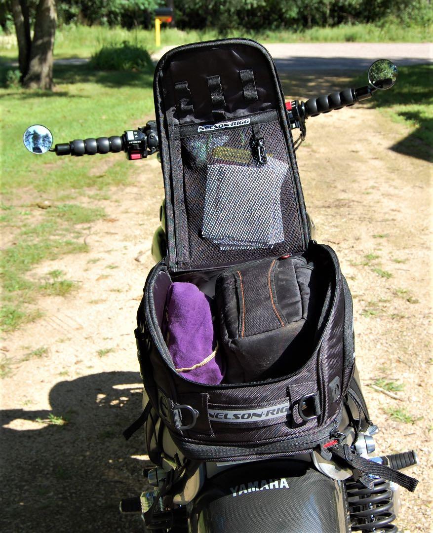 Nelson-Rigg Journey Sport Tank bag capacity