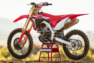 2020 Honda CRF250R Review - left side