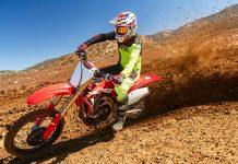 2020 Honda CRF250R Review - berm blast