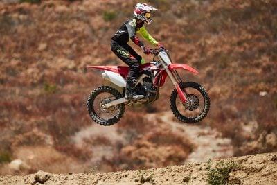 2020 Honda CRF250R Review - airtime