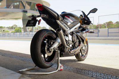2020 Triumph Daytona Moto2 765 Limited Edition - rear view