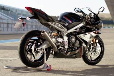 2020 Triumph Daytona Moto2 765 Limited Edition - back right