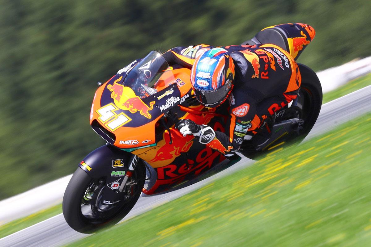 KTM Moto 2 - Brad Binder
