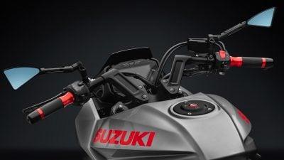 Suzuki Katana clip-ons