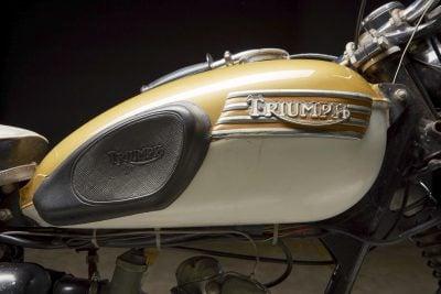 1967 Triumph T20 gas tank