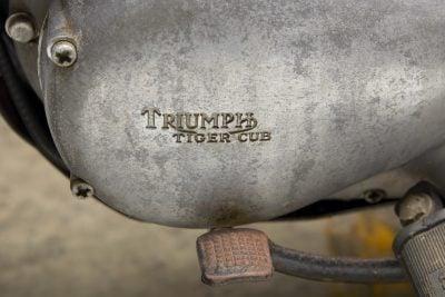 1967 Triumph T20 engine