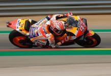 Marquez Tops Aragon MotoGP Friday Practice by 1.1 Seconds