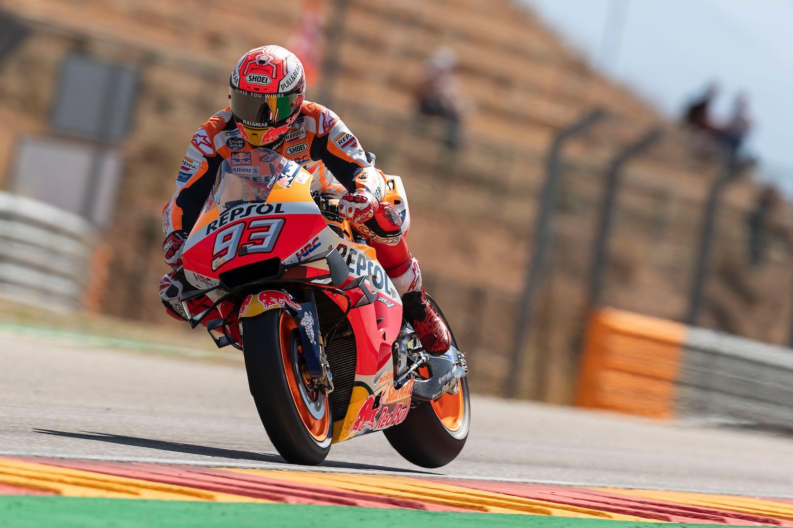 2019 Aragon Motogp Qualifying Results Marquez Claims Pole 9