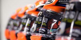 24 arai completed helmets