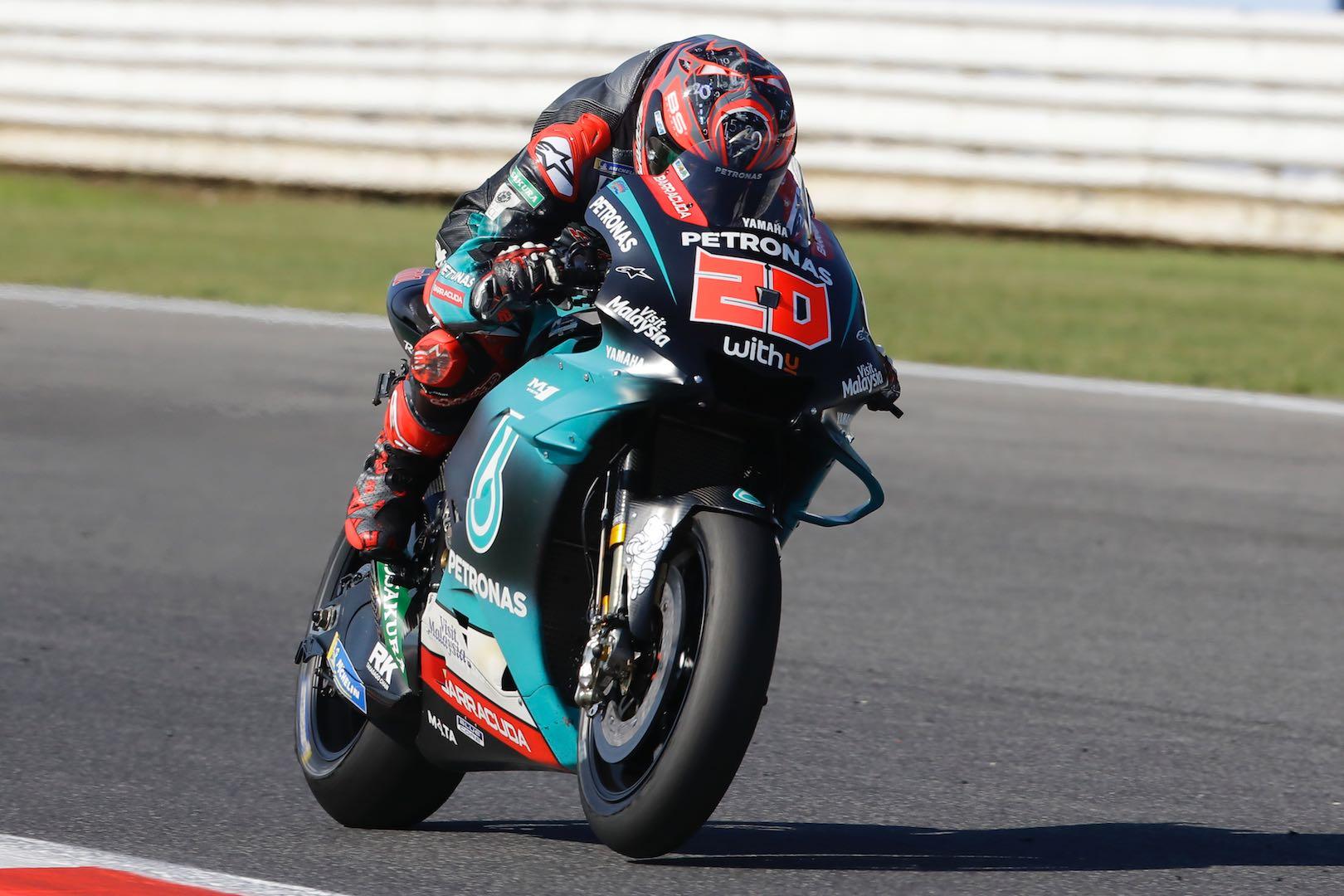 Yamaha Fabio Quartararo Misano MotoGP Qualifying 2019