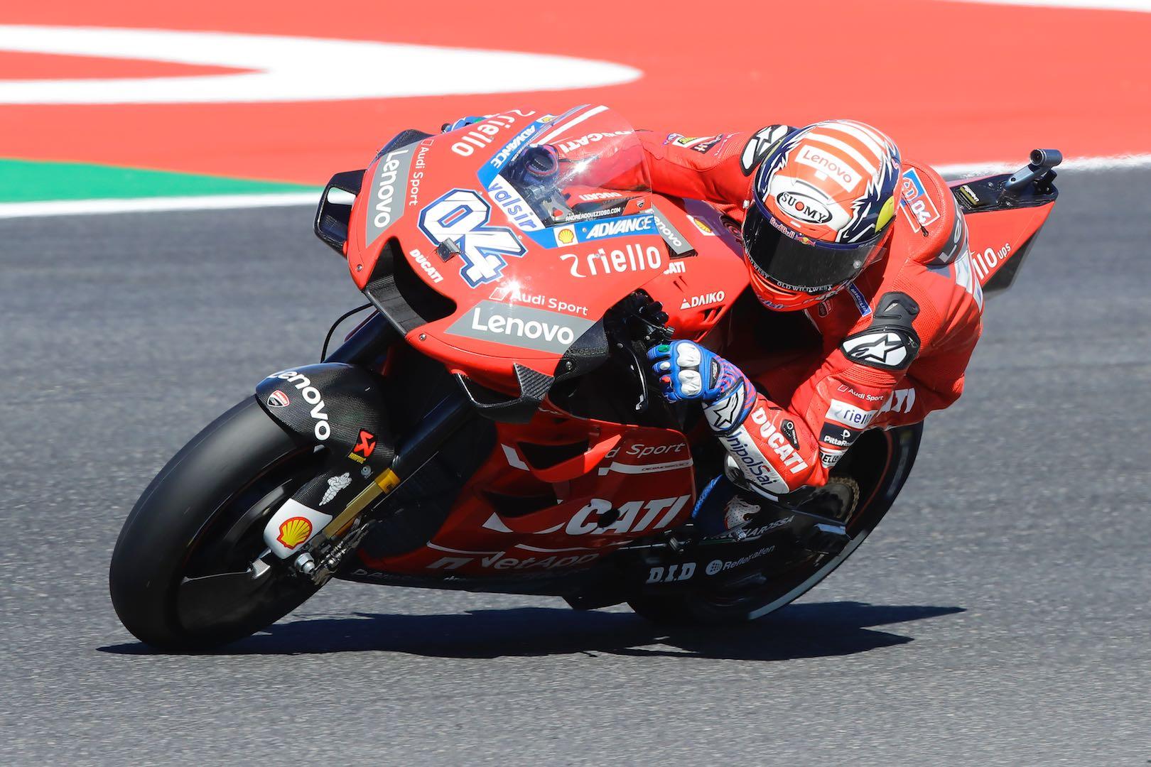 Ducati Andrea Dovizioso MotoGP Qualifying San Marino