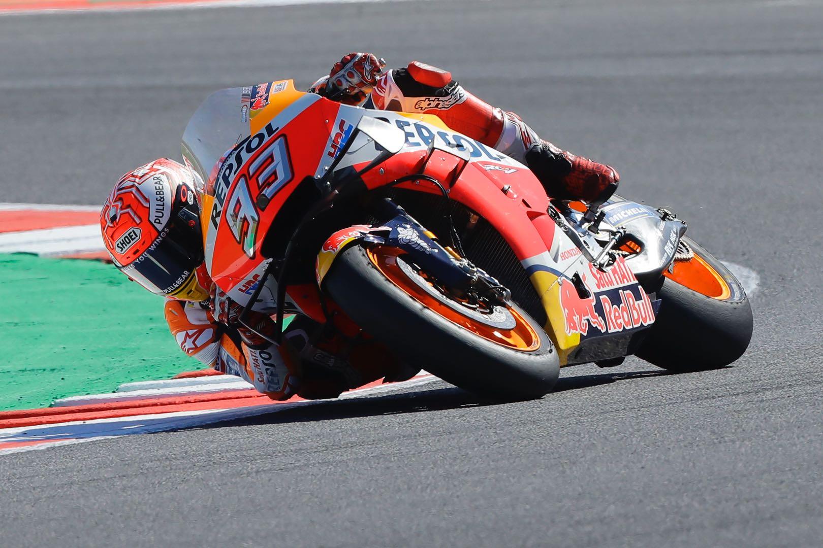 2019 Misano MotoGP Qualifying Marc Marquez Honda