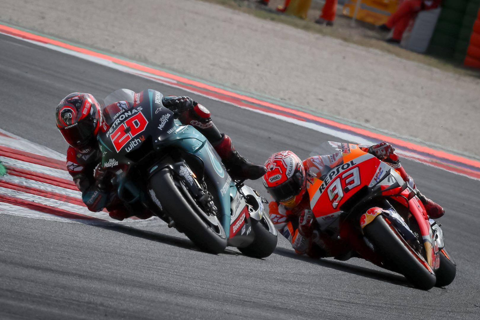2019 San Marino MotoGP Results from Misano (Updated)