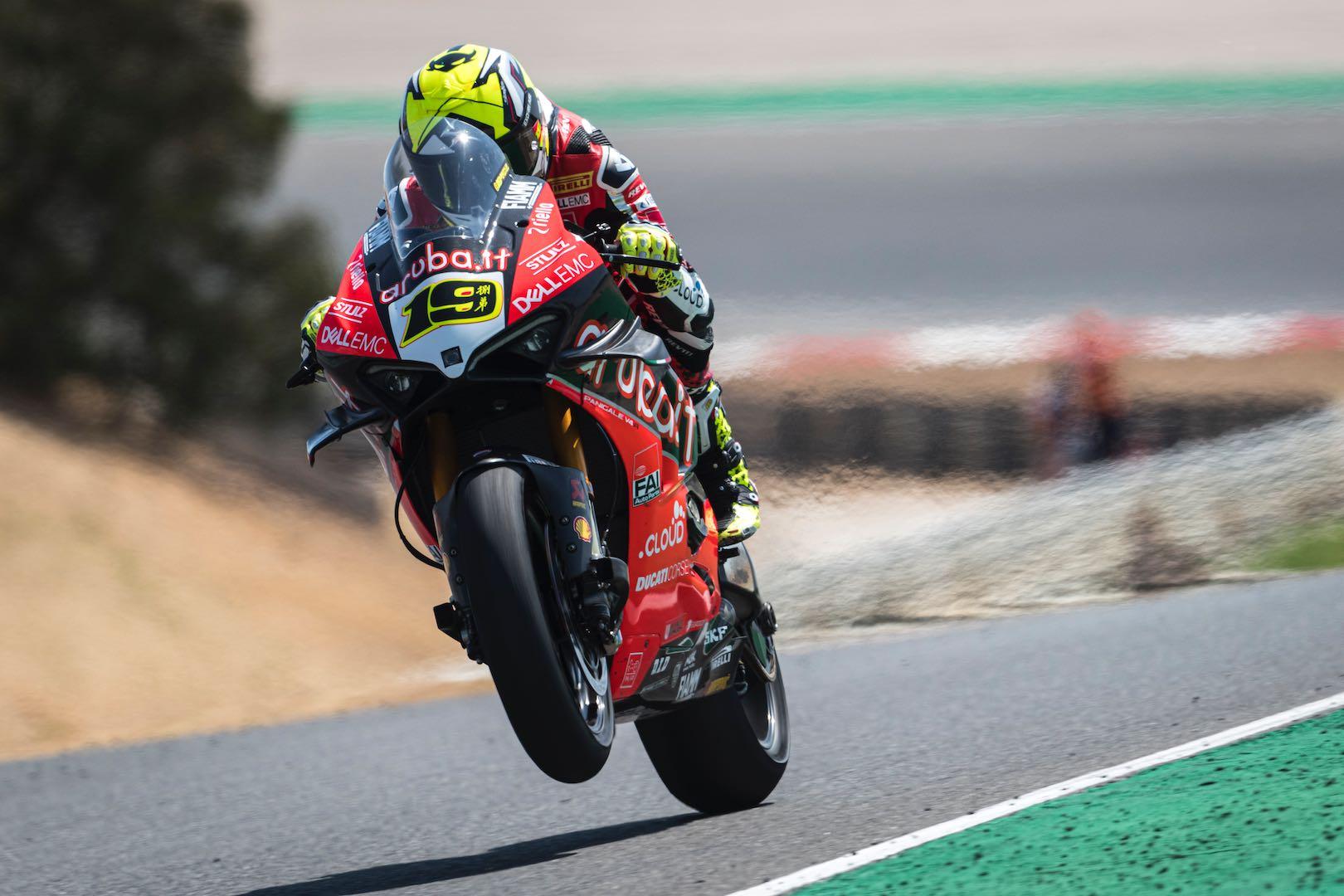 2019 Portugal World Superbike Results Ducati's Alvaro Bautista