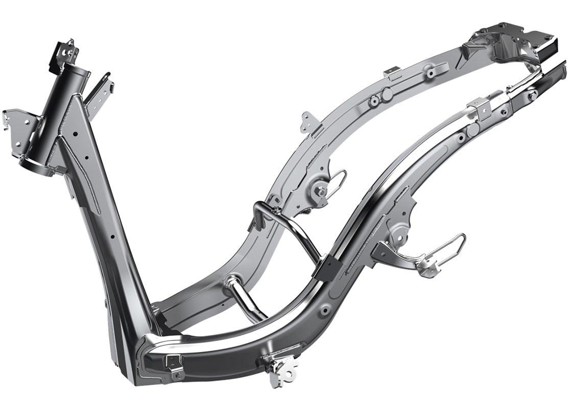 2020 Honda Genio Scooter frame