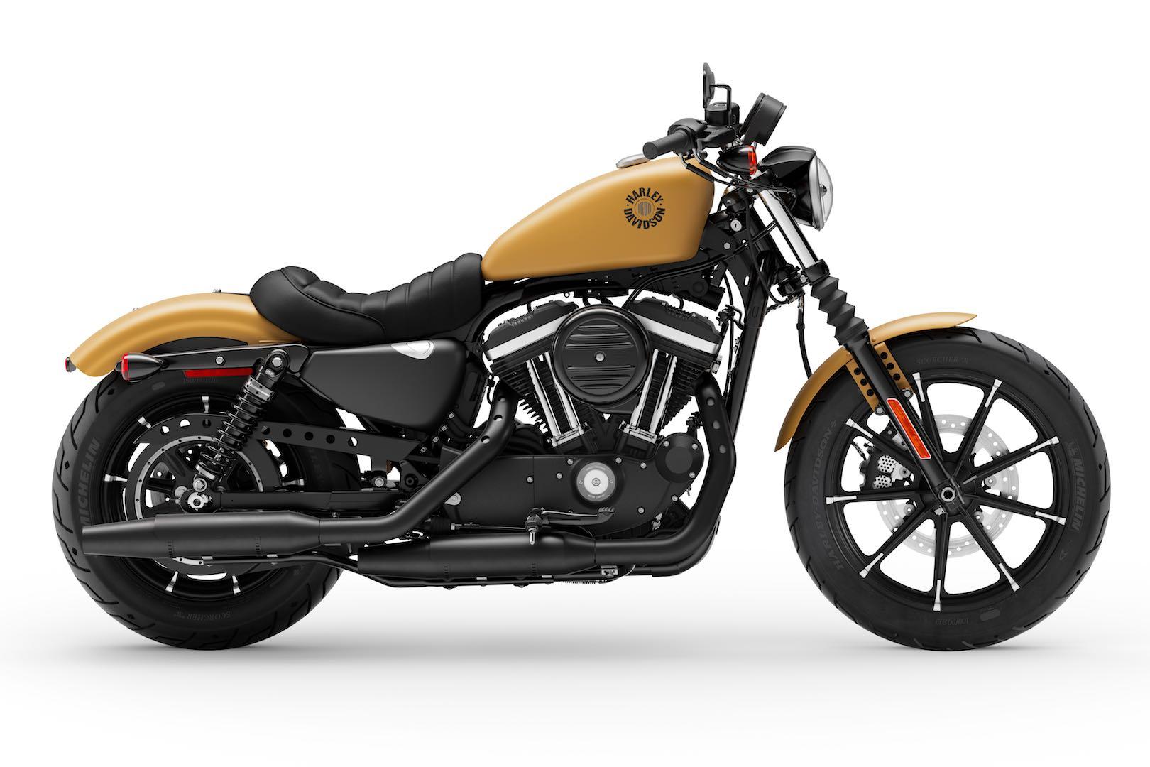 2020 Harley-Davidson Iron 883 Buyer's Guide yellow