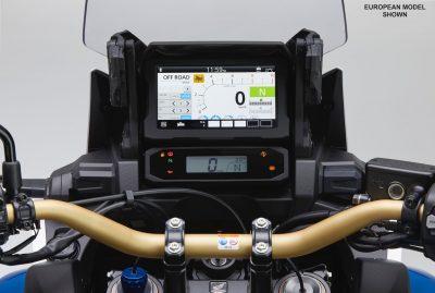 TFT Gauge Layout on 2020 Honda CRF1100L