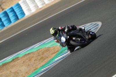 R1M Testing at Jerez