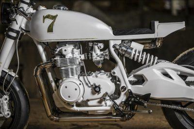 Duke Motorcycles Honda CB500 Four Café Racer - French retromod motorcycle