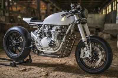 Duke Motorcycles Honda CB500 Four Café Racer - custom retromod motorcycle