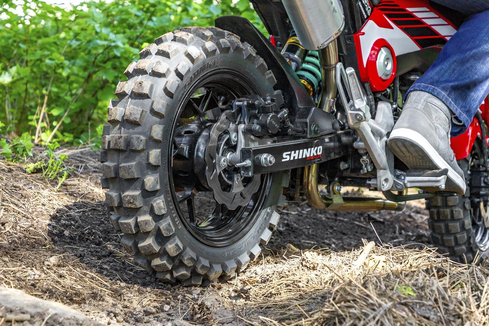 Shinko Mobber Tires - rear tire