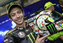 Valentino Rossi 2019 Misano Helmet - Smiling Valentino
