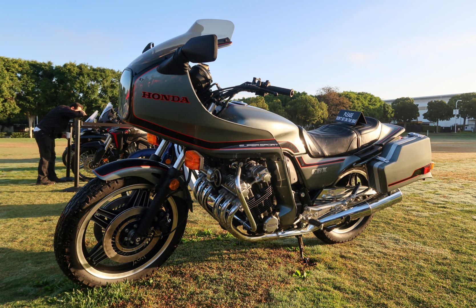 1981 Honda CBX on auction