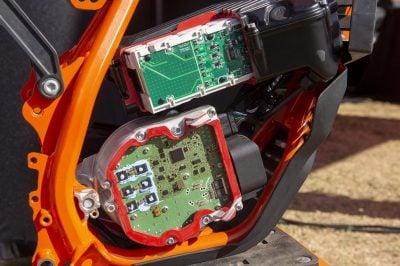 KTM SX-E 5 electronics