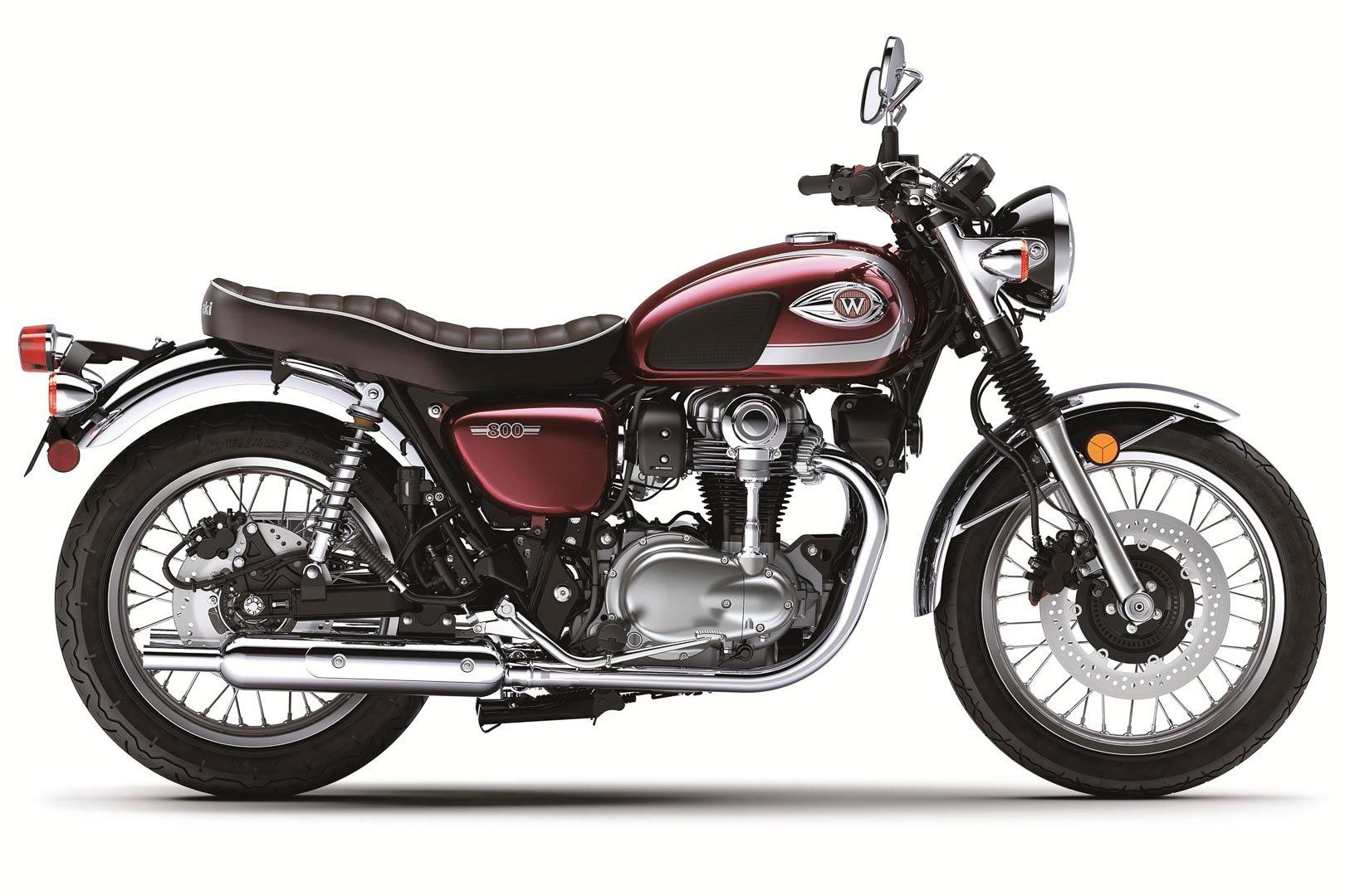 Kawasaki W800 red