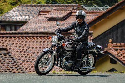 Kawasaki W800 retro bike