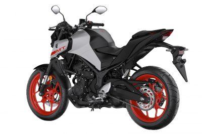 2020 Yamaha MT-03 First Look - grey back