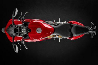 Ducati V2 seat profile
