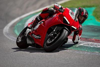 Ducati V2 handling