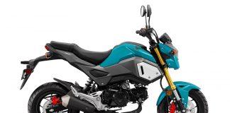 Honda Grom Colors 2020