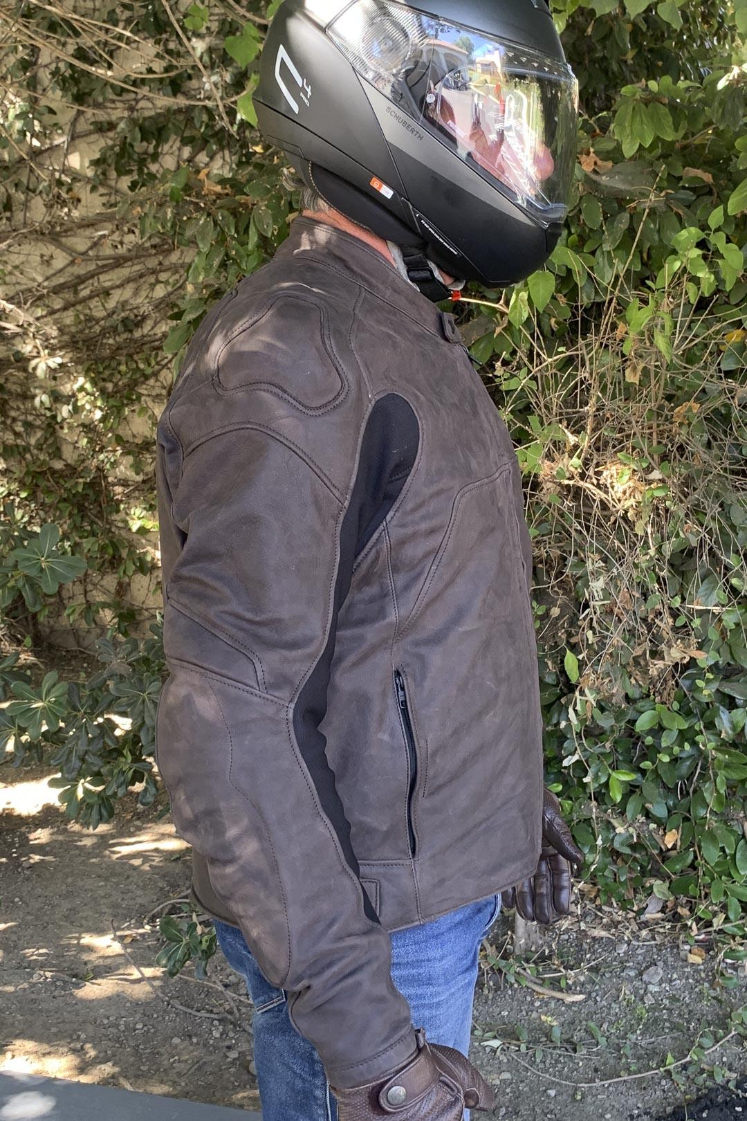 Spidi Evotourer Leather Motorcycle Jacket