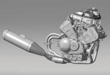 Honda VFR800-Powered N600 engine