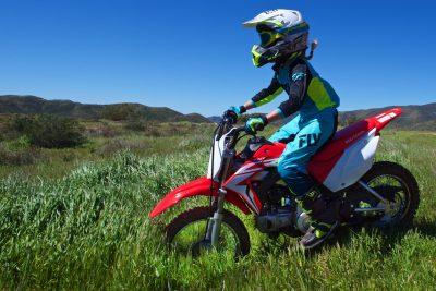 2019 Honda CRF110F test