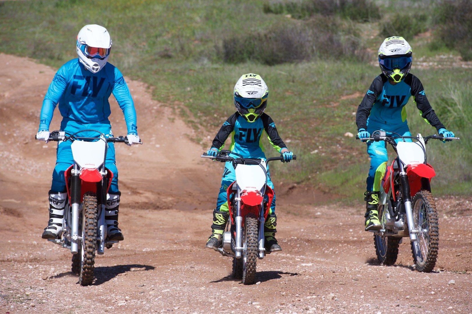 Honda CRF family of motorcycles