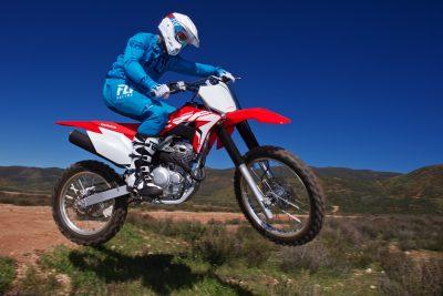 2019 Honda CRF250F test