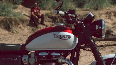 T120 Bud Ekins Motorcycle