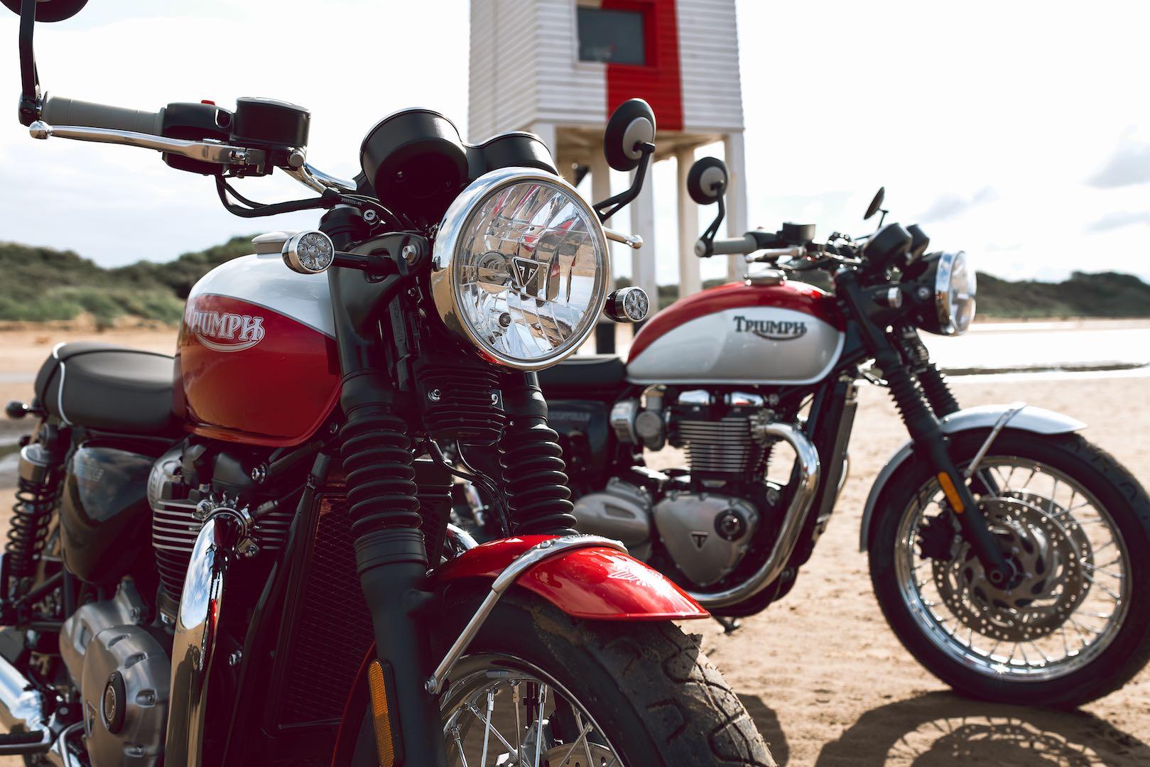 Triumph Bud Ekins T100 Bonneville
