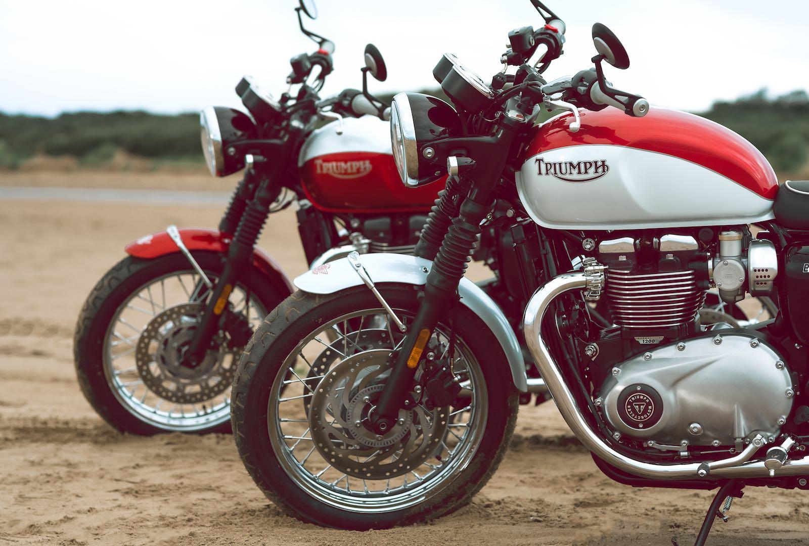 2020 Triumph Bonneville T120 Review.2020 Triumph Bonneville T120 And T100 Bud Ekins Editions