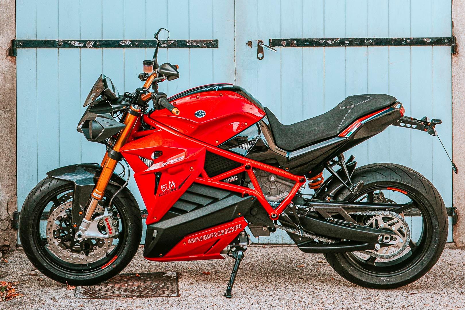 2020 Energica Eva Ribelle First Look: 250-Mile Range Electric Motorcycle